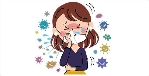 アレルギー・喘息などの健康被害