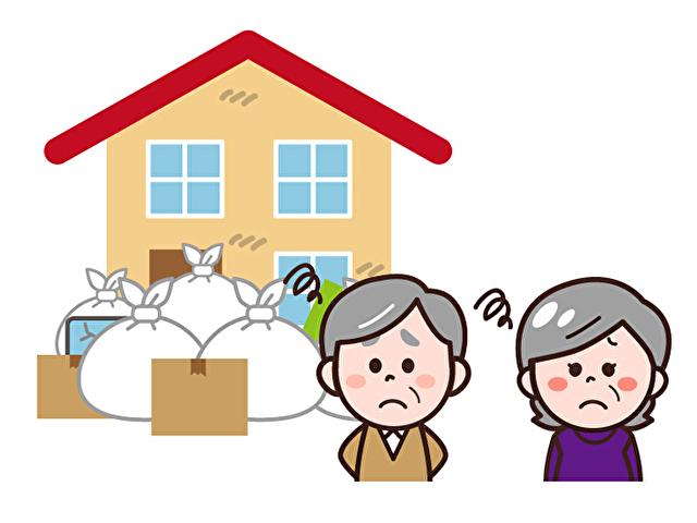 ゴミ屋敷に悩む近隣住民