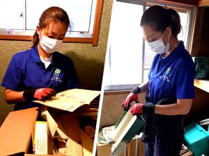 クリーンマイスターのゴミ屋敷清掃スタッフ