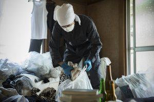 ゴミ屋敷を清掃する業者